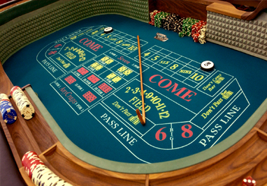 Craps hardways system